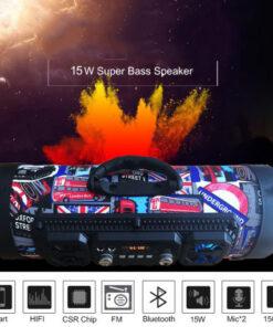 Hifi Portable Bluetooth Speaker FM Radio Move KTV 3D Sound Unit Wireless Surround TV Sound bar 1 510x510 1