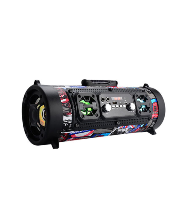 Hifi Portable Bluetooth Speaker FM Radio Move KTV 3D Sound Unit Wireless Surround TV Sound bar 6