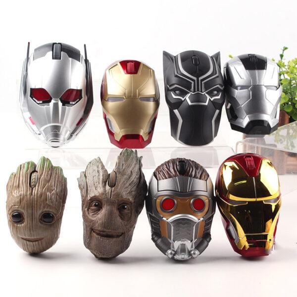 Marvel Action Figures Iron Man Black Panther Star Lord Ant Man Tree Man War Machine Figure 6