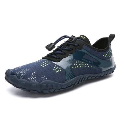 Mens Barefoot Five Fingers Shoes Summer Running Shoes for Men Outdoor Lightweight Quick Aqua Shoes