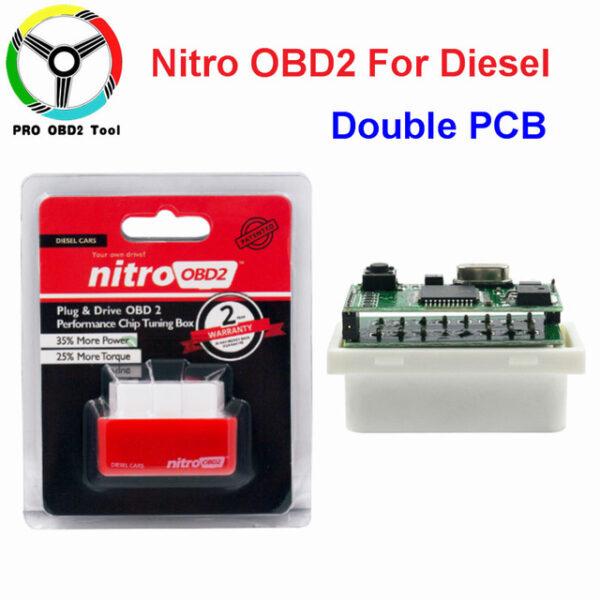 New EcoOBD2 Nitro OBD2 Gasoline Plug Drive Performance For Benzine Eco OBD2 ECU Chip Tuning