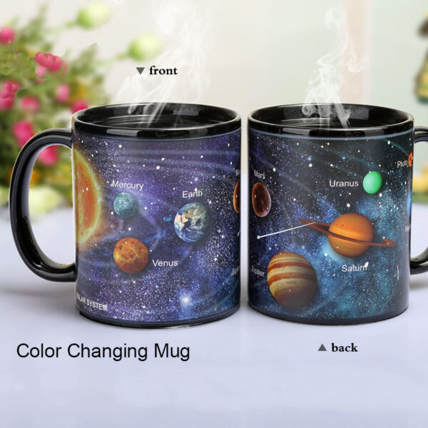 Newest Style Ceramic Cups Changing Color Mug Milk Coffee Mugs Friends Gifts Student Breakfast Cup 3