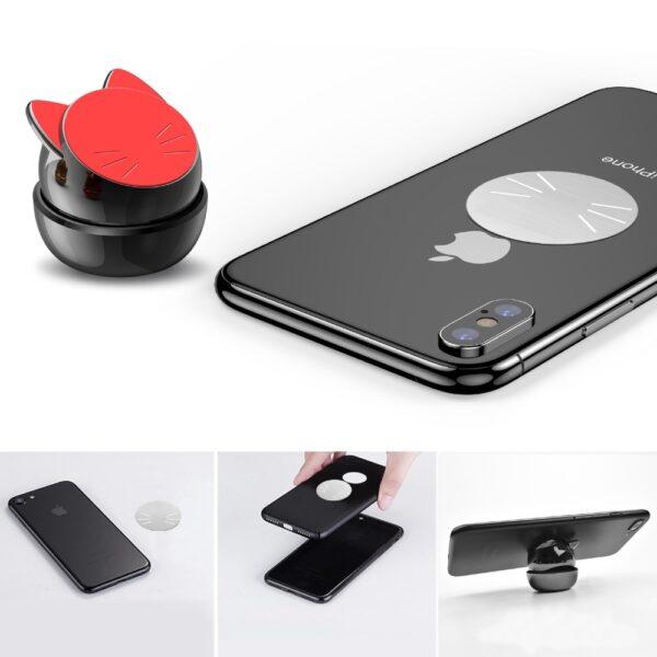 OATSBASF Universal Car Phone Holder 360 Degree GPS Magnetic Mobile Phone Holder for Xiaomi Redmi Note 4 1