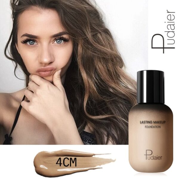 Pudaier 40ml Matte Makeup Foundation Cream for Face Professional Concealing Make up Tonal Base high coverage 1.jpg 640x640 1