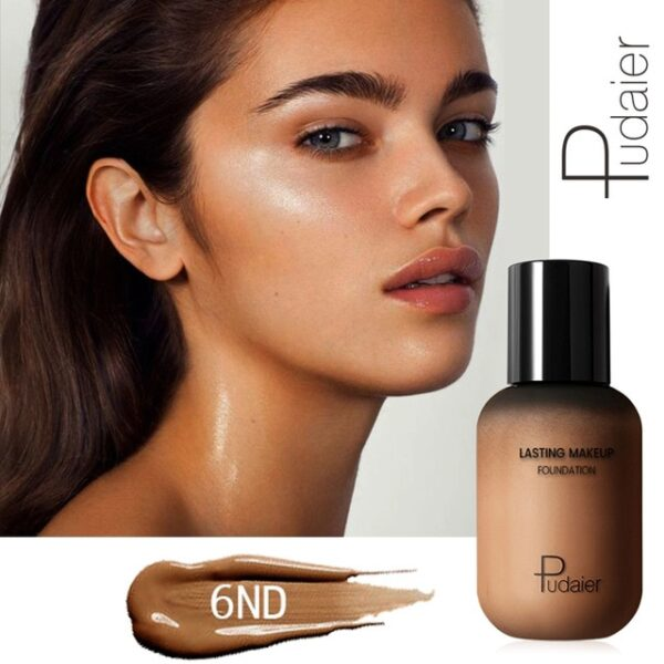 Pudaier 40ml Matte Makeup Foundation Cream for Face Professional Concealing Make up Tonal Base high coverage 10.jpg 640x640 10