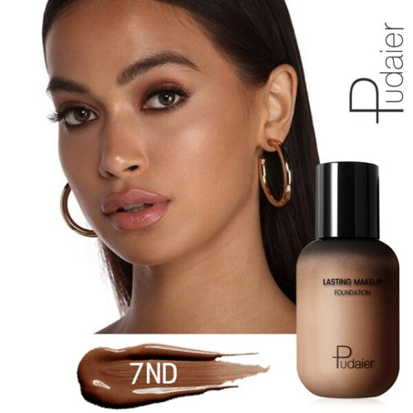 Pudaier 40ml Matte Makeup Foundation Cream for Face Professional Concealing Make up Tonal Base high coverage 15.jpg 640x640 15
