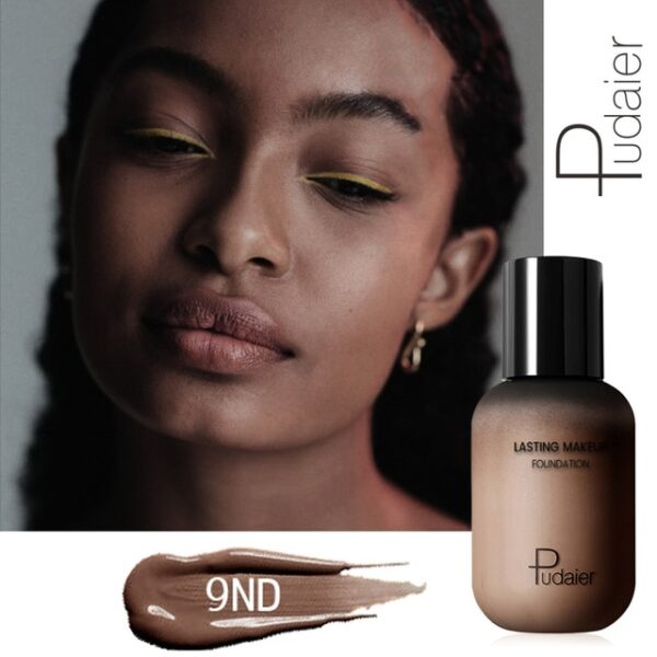 Pudaier 40ml Matte Makeup Foundation Cream for Face Professional Concealing Make up Tonal Base high coverage 17.jpg 640x640 17