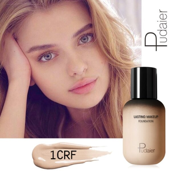 Pudaier 40ml Matte Makeup Foundation Cream for Face Professional Concealing Make up Tonal Base high coverage 18.jpg 640x640 18
