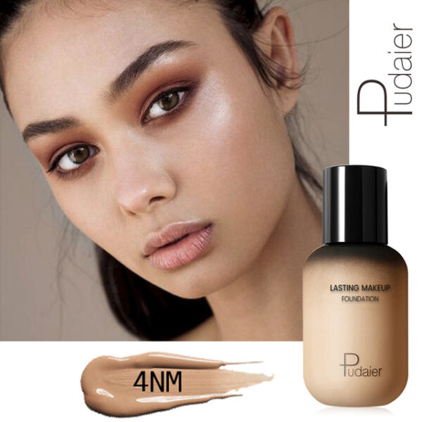 Pudaier 40ml Matte Makeup Foundation Cream for Face Professional Concealing Make up Tonal Base high coverage 2.jpg 640x640 2