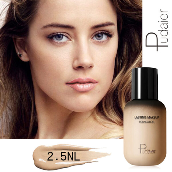 Pudaier 40ml Matte Makeup Foundation Cream for Face Professional Concealing Make up Tonal Base high coverage 20.jpg 640x640 20