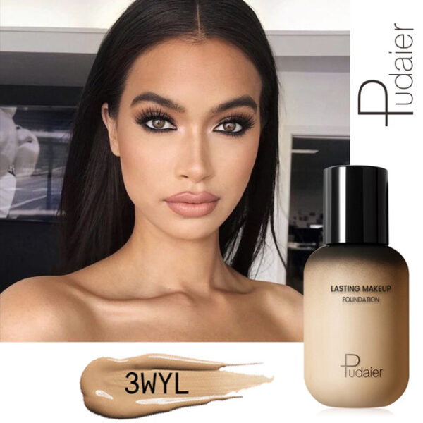 Pudaier 40ml Matte Makeup Foundation Cream for Face Professional Concealing Make up Tonal Base high coverage 21.jpg 640x640 21