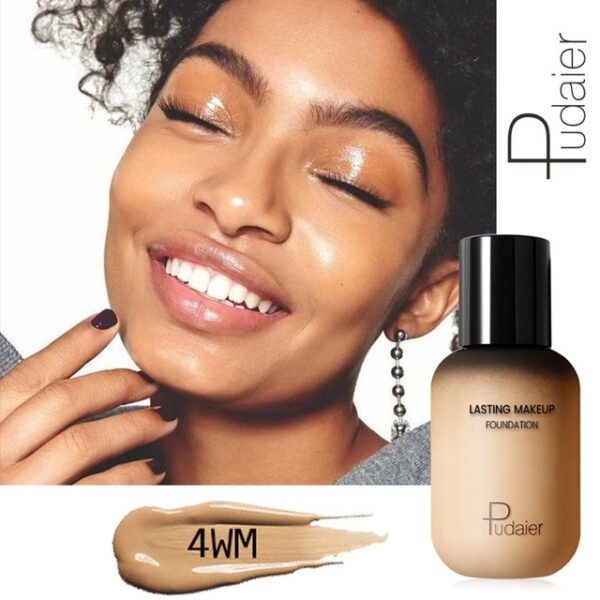Pudaier 40ml Matte Makeup Foundation Cream for Face Professional Concealing Make up Tonal Base high coverage 3.jpg 640x640 3