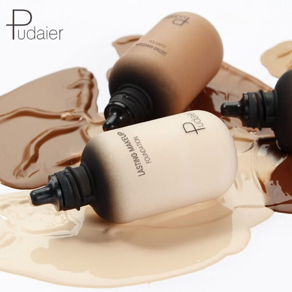 Pudaier 40ml Matte Makeup Foundation Cream for Face Professional Concealing Make up Tonal Base high coverage 4