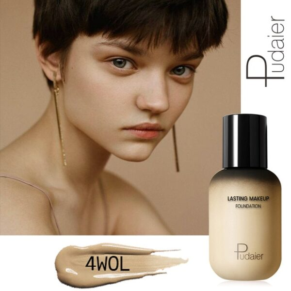 Pudaier 40ml Matte Makeup Foundation Cream for Face Professional Concealing Make up Tonal Base high coverage 4.jpg 640x640 4