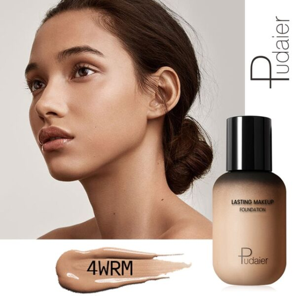 Pudaier 40ml Matte Makeup Foundation Cream for Face Professional Concealing Make up Tonal Base high coverage 5.jpg 640x640 5