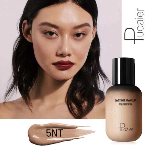 Pudaier 40ml Matte Makeup Foundation Cream for Face Professional Concealing Make up Tonal Base high coverage 6.jpg 640x640 6