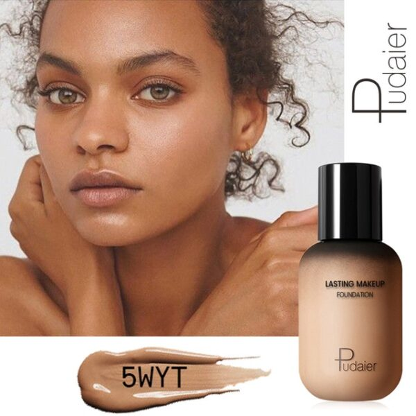 Pudaier 40ml Matte Makeup Foundation Cream for Face Professional Concealing Make up Tonal Base high coverage 8.jpg 640x640 8