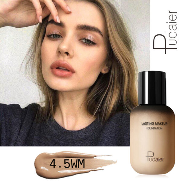 Pudaier 40ml Matte Makeup Foundation Cream for Face Professional Concealing Make up Tonal Base high