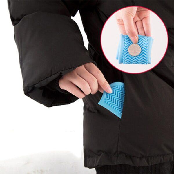Silicone Overshoes Reusable Waterproof Rainproof Men Shoes Covers Rain Boots Non slip Washable Unisex Wear Resistant 5