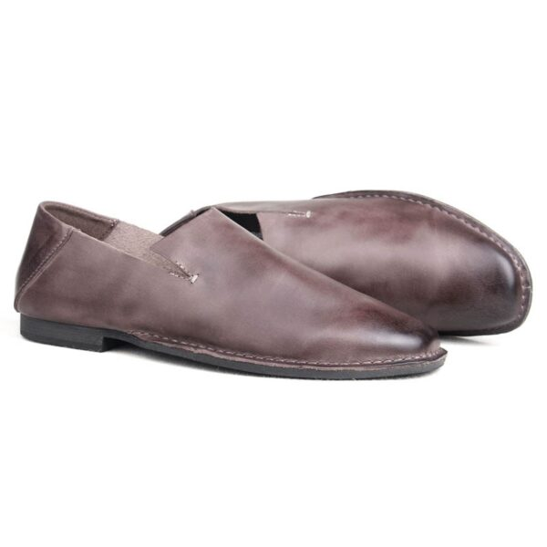 Slip On Mens Genuine Leather Cow Autumn New Fashion Loafers Male Casual Shoes Sapatenis Masculinos Casual 1
