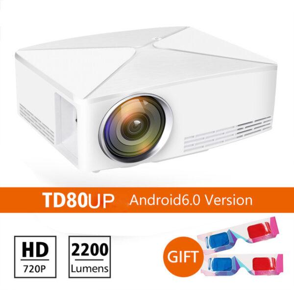 ThundeaL GP70 Upgrade TD80 Mini LED Projector 1280x720 Portable HD HDMI Video C80 3D LCD TD80 1.jpg 640x640 1