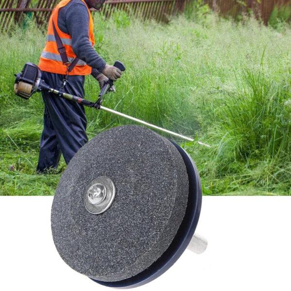 Universal Lawnmower Faster Blade Sharpener Grinding Garden Tools Rotary Drill 2 1