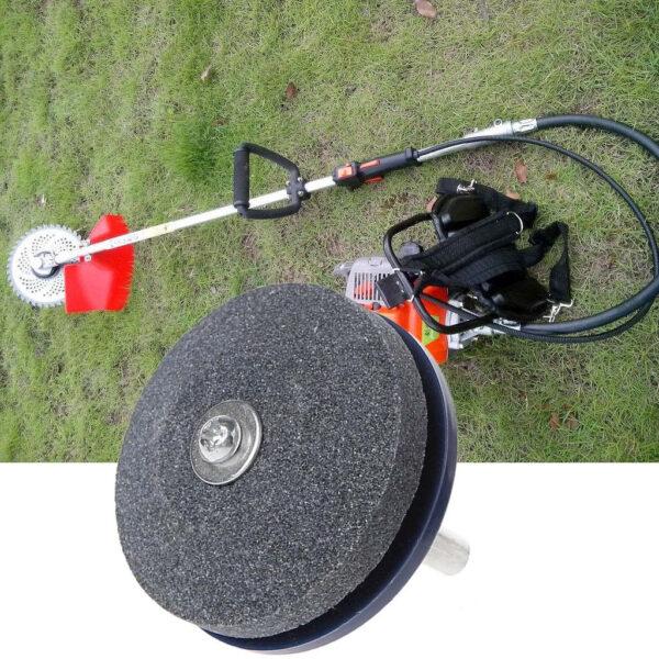 Universal Lawnmower Faster Blade Sharpener Grinding Garden Tools Rotary Drill 3 1