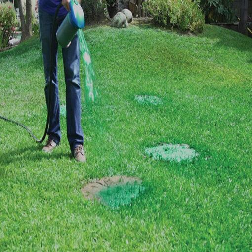 Распрскувач на семе за трева, систем за течности за тревници Трева распрскувач на семе