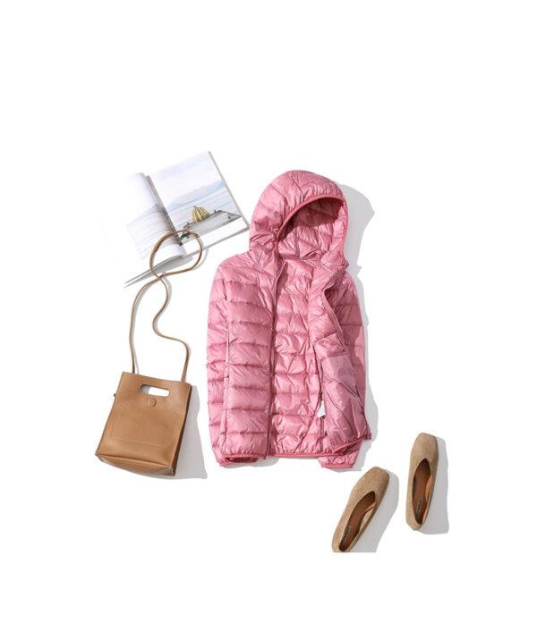 Women Winter Ultra Light 90 White Duck Down Jacket Fashion Casual Female Outerwear Plus Size Waterproof 3 1