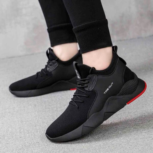 YOUYEDIAN designer shoes For male luxury 2019 Men s Fashion Flying Woven Shoes Casual Trainers Fitness 3