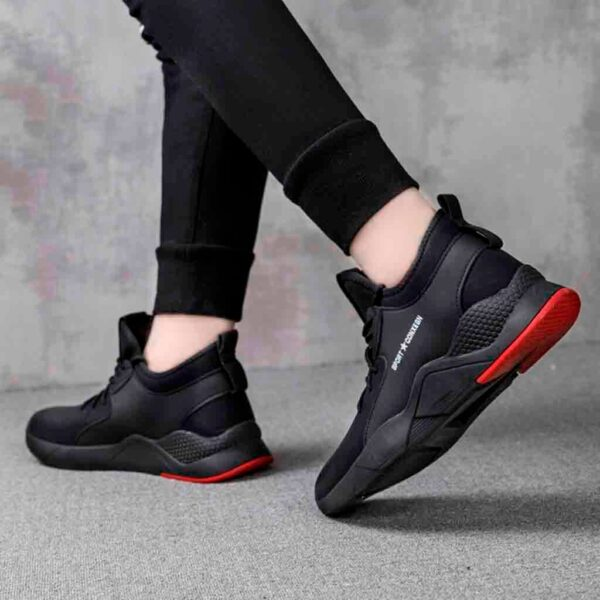 YOUYEDIAN designer shoes For male luxury 2019 Men s Fashion Flying Woven Shoes Casual Trainers Fitness 4