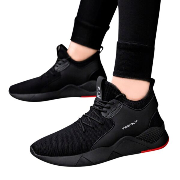 YOUYEDIAN designer shoes For male luxury 2019 Men s Fashion Flying Woven Shoes Casual Trainers Fitness