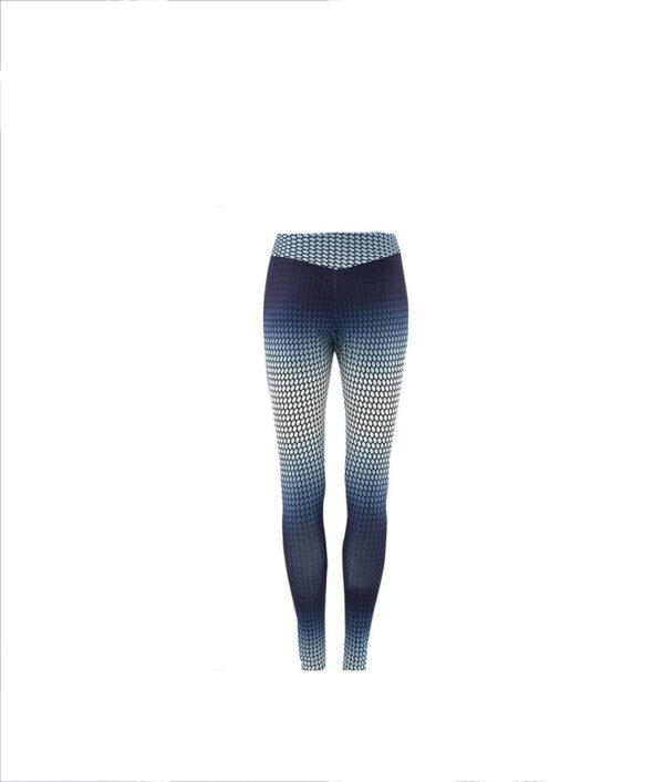 Yoga Pants Women Unique Printed Polka dot Fitness Leggings Sports Running Leggings Sexy Push Up Gym 4