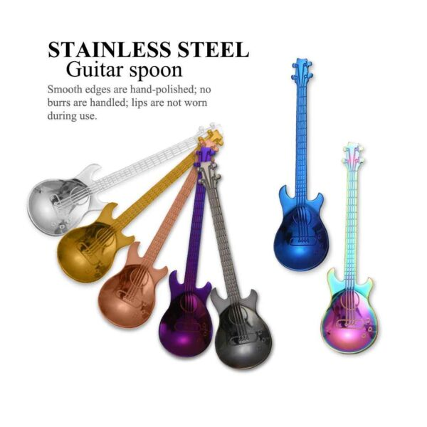 fashion cute coffee spoon stainless steel guitar spoon coffee and teaspoon tableware drinking stirring spoon creative.jpg q50