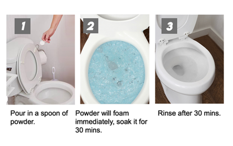 All-Purpose Quick Foaming Toilet Cleaner, All-Purpose Quick Foaming Toilet Cleaner