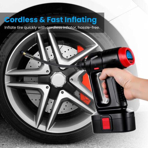Cordless Tire Inflator, Cordless Tire Inflator