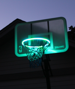 Hoop Light LED Lit Basketball Rim, Hoop Light LED Lit Basketball Rim