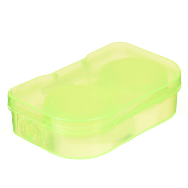 1PC New style hot sale Convenient Travel Contact lens Case for Eyes Care Kit Holder Container 5