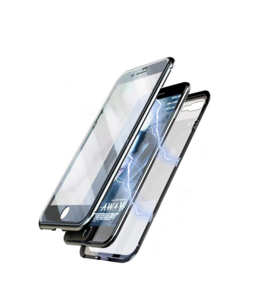 Original Magnetic Adsorption Transparent iPhone Case, Original Magnetic Adsorption Transparent iPhone Case