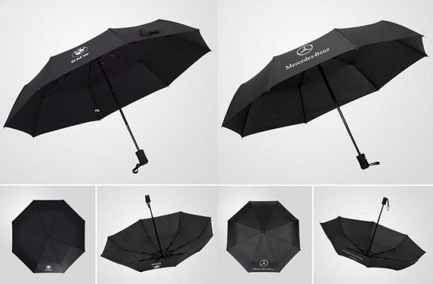 Car Logo Weatherproof Umbrella, Car Logo Weatherproof Umbrella