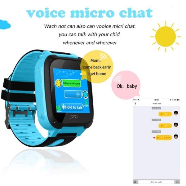 2019 Smart Watch Micro SIM Card Call Tracker Child Camera Anti lost Position Alarm Smart Watch 3