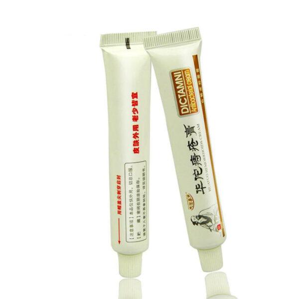 20g Bhokisi Chinese Herbal Hemorrhoids Cream Chizoro Rine Simba Yemukati Mapepa Kunze kweAnal Anal Mafuta 3 1