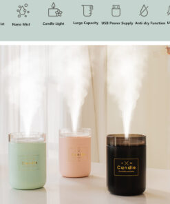 Ultrasonic Candle Essential Oil Diffuser, Ultrasonic Candle Essential Oil Diffuser