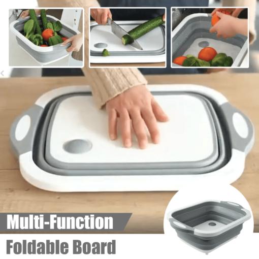 Foldable Multi-Function Chopping Board, Foldable Multi-Function Chopping Board