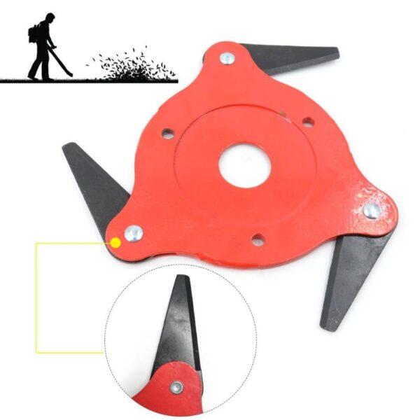 3T 5T 6T Garden Lawn Mower Blade Manganese Steel Grass Trimmer Brush Cutter Head 2