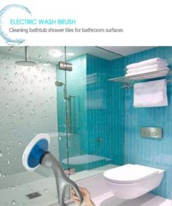 Muscle Scrubber Electrical Cleaning Brush, Muscle Scrubber Electrical Cleaning Brush