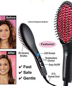 Ceramic Hair Straightener Brush, Ceramic Hair Straightener Brush