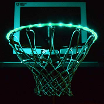 Hoop Light LED Lit Basketball Rim, Hoop Light LED Lit Basketball Rim