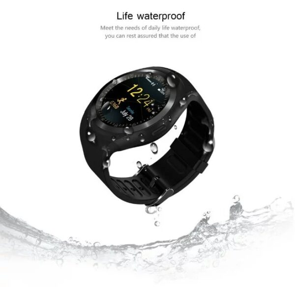 696 Y1 Smart Watchs Round Support Nano SIM TF Card With Whatsapp And Facebook Men Women 1