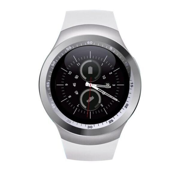 696 Y1 Smart Watchs Round Support Nano SIM TF Card With Whatsapp And Facebook Men Women 3